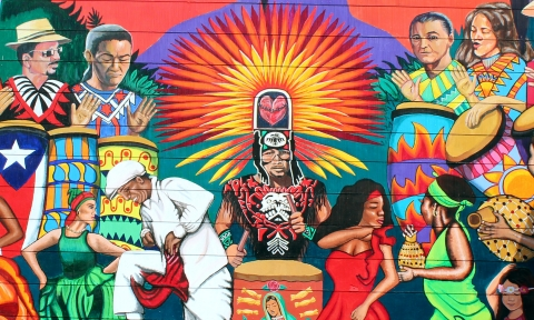 Photo of Mural in the Mission, on 24th Street